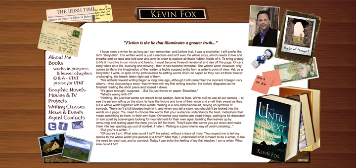 TheWriterKevinFox.com